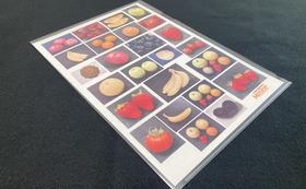 特製果物・野菜写真印刷紙付きクリアファイル