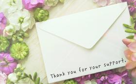 《応援の気持ち 5000円コース》心を込めて御礼のメールをお送りします