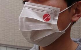 感謝のメールと活動報告、ロゴ入りマスクをお送りします。