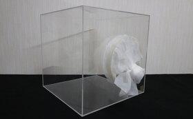 蚊とアクリルボックスを使った試験実施と結果報告書作成