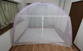 蚊と蚊帳を使用した試験実施と結果報告書作成