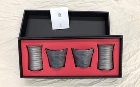 おうちの中で特別な一杯!炭を纏った陶器「炭陶」セット