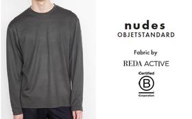 nudes - objetstandard メリノウール長袖スウェット(メンズ)