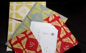 小川千代紙 カードケースと名刺刷り体験