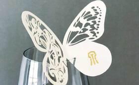 E. オリジナル蝶型ペーパームエット|あやはべるコース