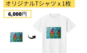 【Readyfor価格】オリジナル アートTシャツ 1枚