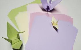 あの子と一緒に折り紙