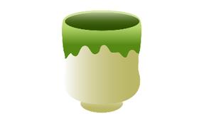 店舗で使用する窯元の陶器(銘入り)+ワンちゃんの水飲み皿