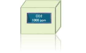 Co2濃度表示器 スタンドアロン型モデル