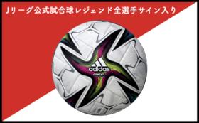 【スペシャルグッズ支援】支援者限定2021年Jリーグ公式試合球レジェンド全選手サイン入り