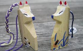 裏磐梯の守り狐と感謝のメールと活動報告書