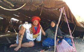 ◆絨毯のお土産付き◆モロッコでの農業体験とベルベル人ノマドの家で絨毯織りの体験三日間