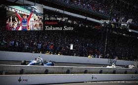 第101回インディ500優勝記念ポスター額装+写真集にお名前掲載+完成した写真集セット!