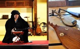 【出張ライブ】「岩下小太郎」オリジナル琵琶語り