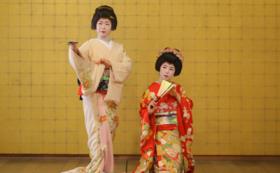 G|現地にて開催!お座敷ご招待+古町芸妓の舞DVD(非売品)