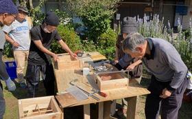 ニホンミツバチの巣箱作りワークショップ、およびJBeeFarm主催の誘引ワークショップへのご招待