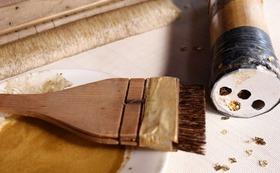 金銀砂子 装飾和紙作り体験