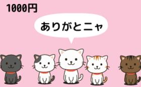 1000円のご支援