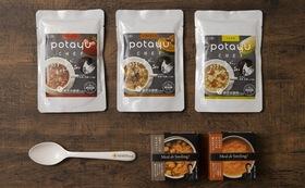 「リターンを医療者へ寄付」も可能!送り先が選べる<ミールdeスマイリング缶詰&potayu chef>セット