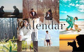 オリジナルフォトカレンダー応援コース(6000円のリターンを含む)