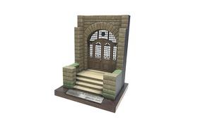 E 古河邸 エントランス模型