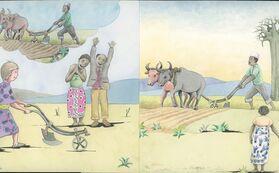 『ニョタのふしぎな音楽』絵かきさんイマンジャマさんの原画(スキ)&  絵本2冊 (+DVD)