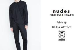 nudes - ウールテンセル リラックスセットアップ