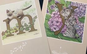 中島祥子さんのポストカード2枚
