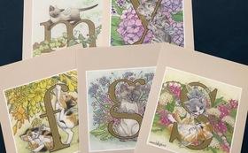 中島祥子さんのポストカード5枚