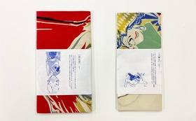F|【日本画家/川崎麻央】新江戸染てぬぐいセット