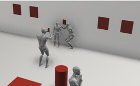 美術館に作品展示体験(作品サイズ 600 × 600 [mm] 以上)