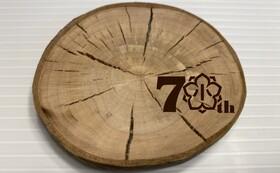 八戸市立桔梗野小学校創立70周年記念    コースター