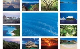私のオリジナルポストカード(3)13枚  『世界遺産 小笠原諸島』父島•母島•南島•聟島•南硫黄島•北硫黄島の写真です。