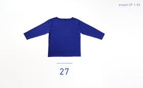 """27"" - Vol.03 / バスクシャツ"