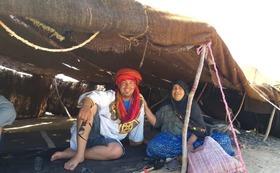 ベルベル人ノマドの家にホームステイ+砂漠キャンプ+リヤドマムーシュ一泊