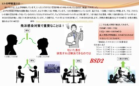 C.日本中で猛威を振るっている新型コロナウイルス感染症に負けない社会を作る。