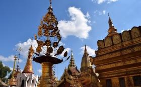 お礼のメールとミャンマーの写真4枚