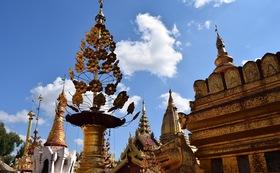 お礼のメールとミャンマーの写真6枚