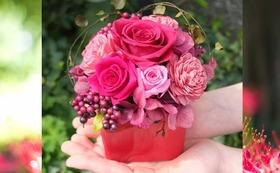 お花でたくさん応援