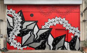 BAKIBAKI 壁画 (15平米)