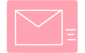 毎月の活動報告と感謝のメール