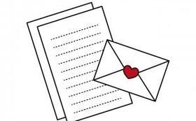 感謝の手紙と活動報告