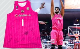 【数量限定】#1ダンカン選手サイン入り ピンクユニフォームコース