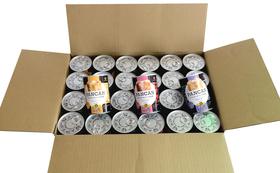 おいしくて柔らかい37か月長期保存可能な防災備蓄パン、アキモトのパン缶詰24缶セットをあなたのお手元にお届けいたします。