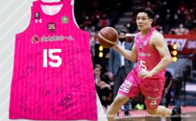 【数量限定】#15藤永選手サイン入り ピンクユニフォームコース