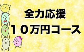 全力応援!10万円コース!