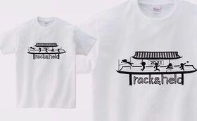 【5000円Tシャツ白応援プラン】大会ライブ配信記念Tシャツホワイト+サンクスメール+活動報告書