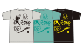 淀壁 TEEシャツ