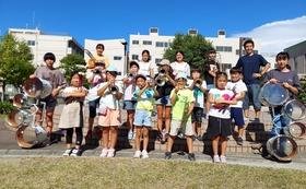 マーチングに取り組む子どもたちにエールを!【お礼のメール・活動報告】2000円コース