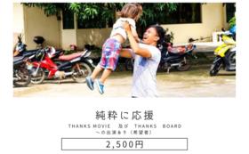 【純粋に応援 2500円】